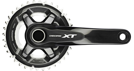 Shimano Deore XT FC-M8000 Krank 26/36, 2x11-speed sort